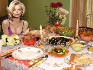 романтический ужин для парня