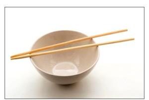 палочки для еды в Китае
